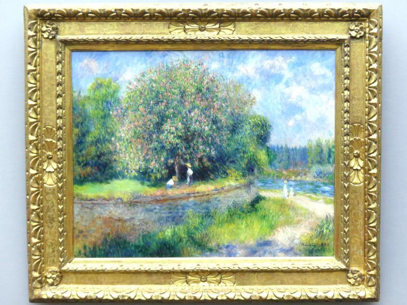 Auguste Renoir (Pierre-Auguste Renoir): Blühender Kastanienbaum, 1881