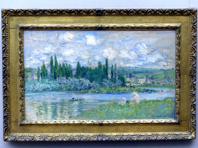 Claude Monet: Ansicht von Vétheuil-sur-Seine, 1880