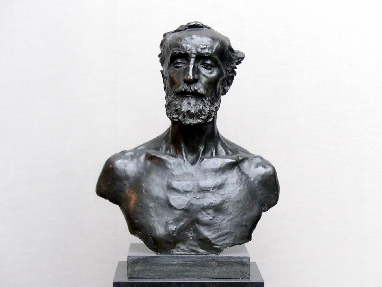 Auguste Rodin: Jules Dalou, 1883