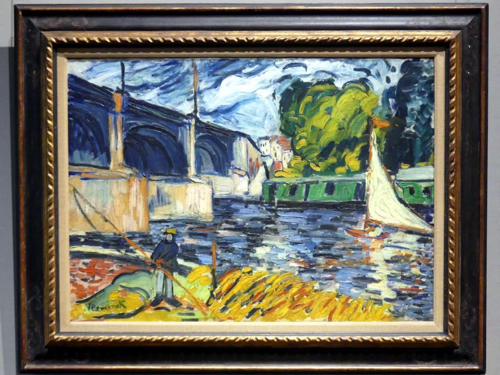 Maurice de Vlaminck: Die Brücke am Chatou, 1907