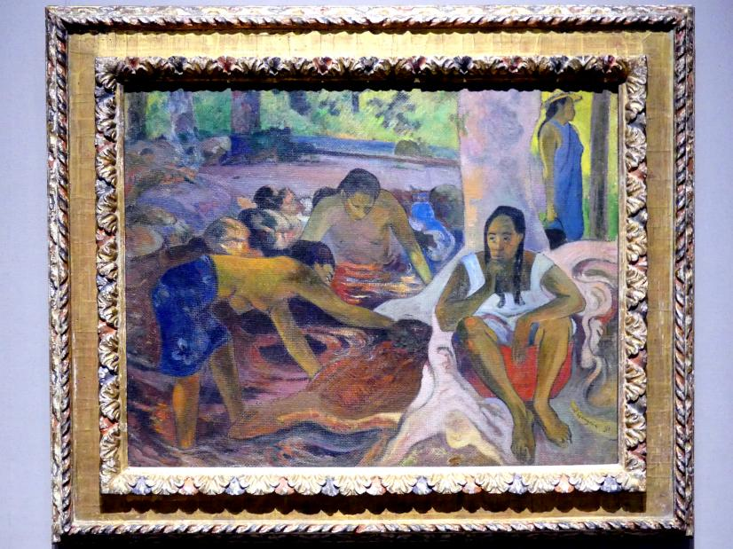 Paul Gauguin: Tahitianische Fischerinnen, 1891