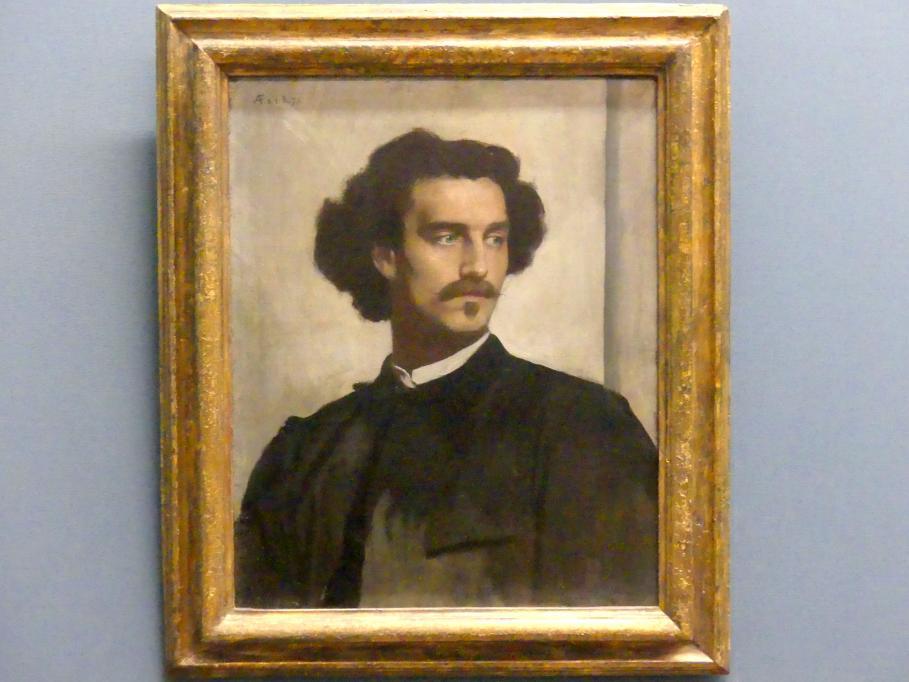 Anselm Feuerbach: Selbstbildnis, 1873