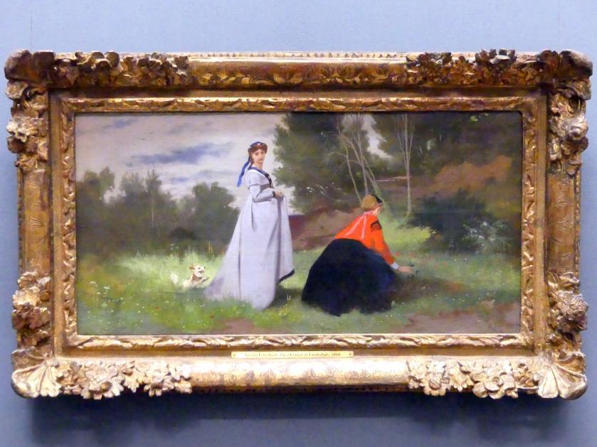 Anselm Feuerbach: Zwei Frauen in einer Landschaft, 1867