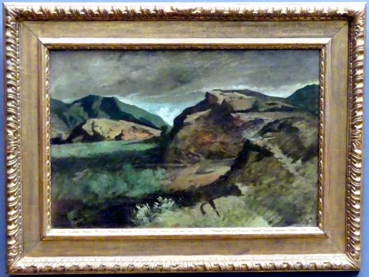 Anselm Feuerbach: Heroische Landschaft, 1855