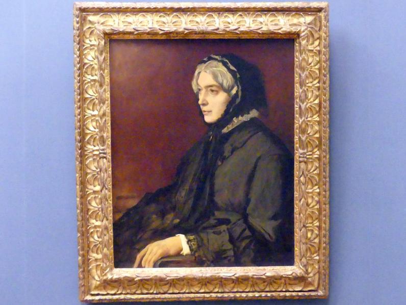 Anselm Feuerbach: Die Stiefmutter des Künstlers, Henriette Feuerbach, 1878
