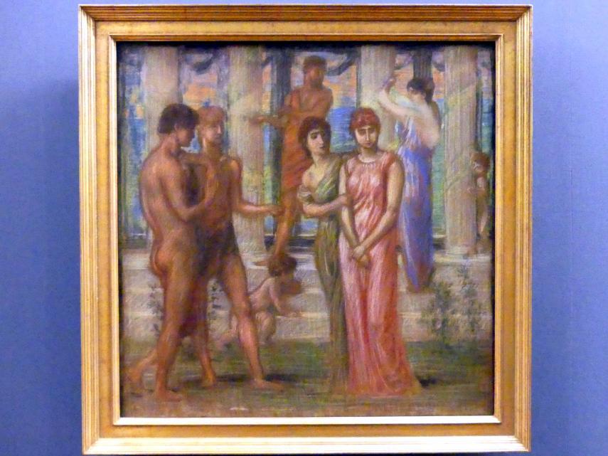 Hans von Marées: Die Werbung, 1885