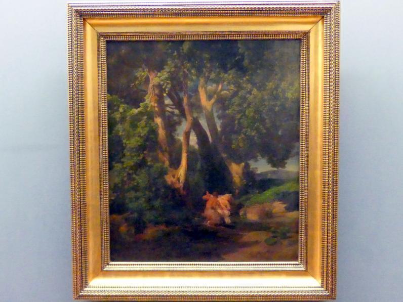 Arnold Böcklin: Kentaur und Nymphe, 1855