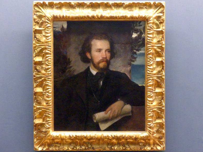 Arnold Böcklin: Der Kammersänger Karl Wallenreiter, um 1861