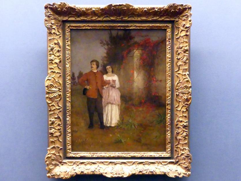 Arnold Böcklin: Der Künstler und seine Frau, 1863 - 1864