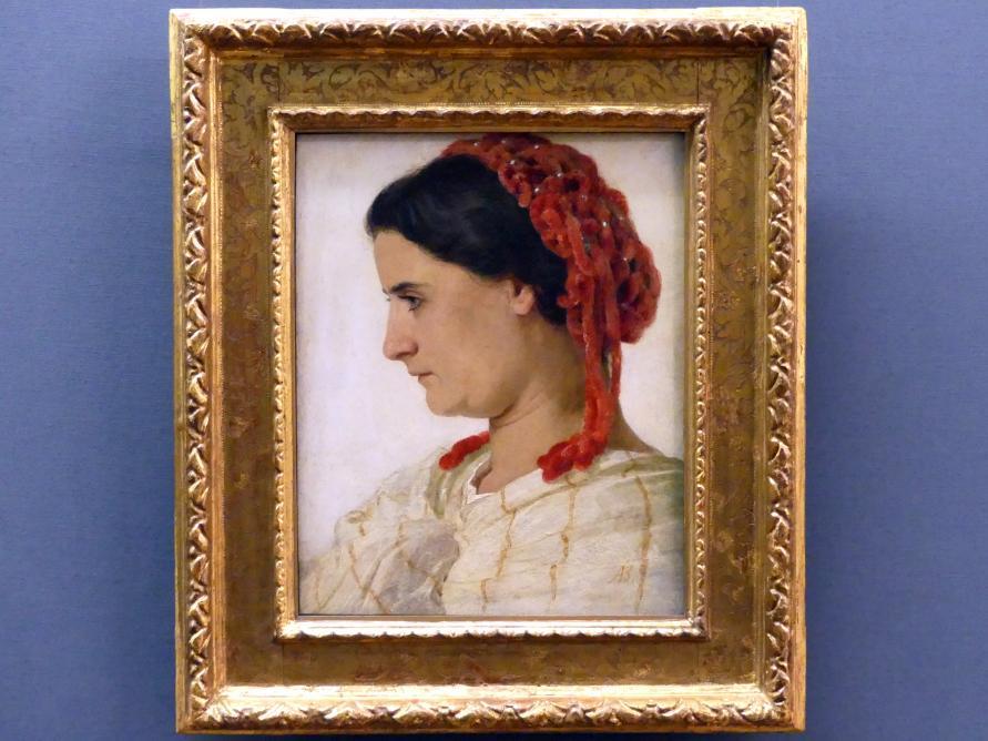 Arnold Böcklin: Angela Böcklin, 1863