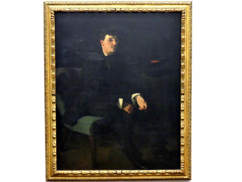 Wilhelm Trübner: Der Maler Karl Schuch, 1876