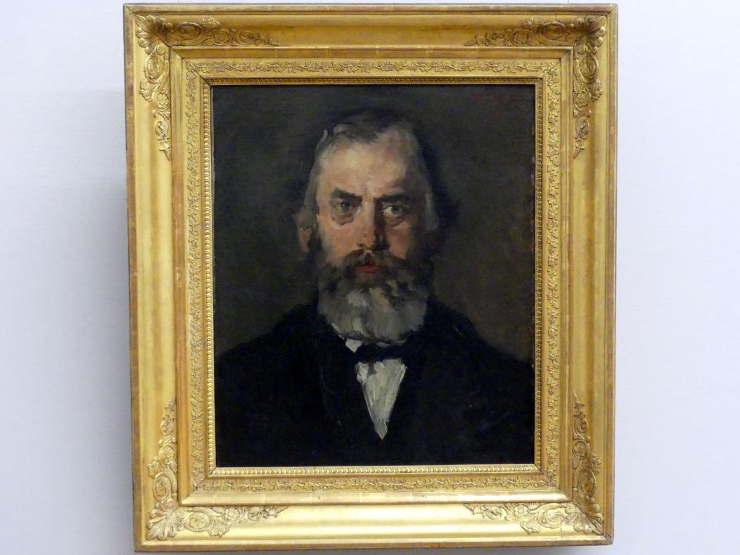 Wilhelm Leibl: Der Appelationsrat Stenglein (Der Amtmann), 1871