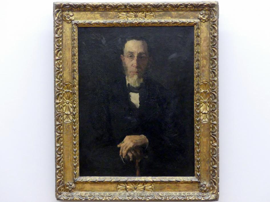 Wilhelm Leibl: Porträt des Bürgermeisters Klein, 1871