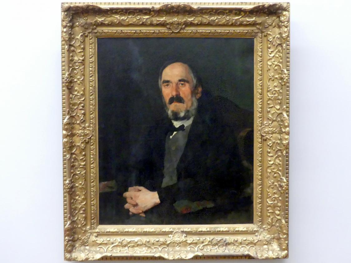 Wilhelm Trübner: Der Bürgermeister Wilhelm Hofmeister, 1872