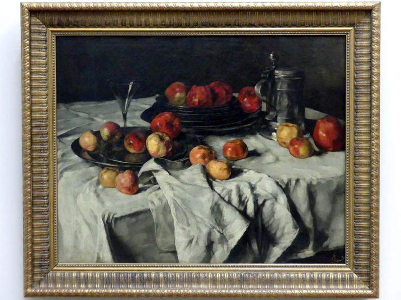 Carl Schuch: Stillleben mit Äpfeln, 1876