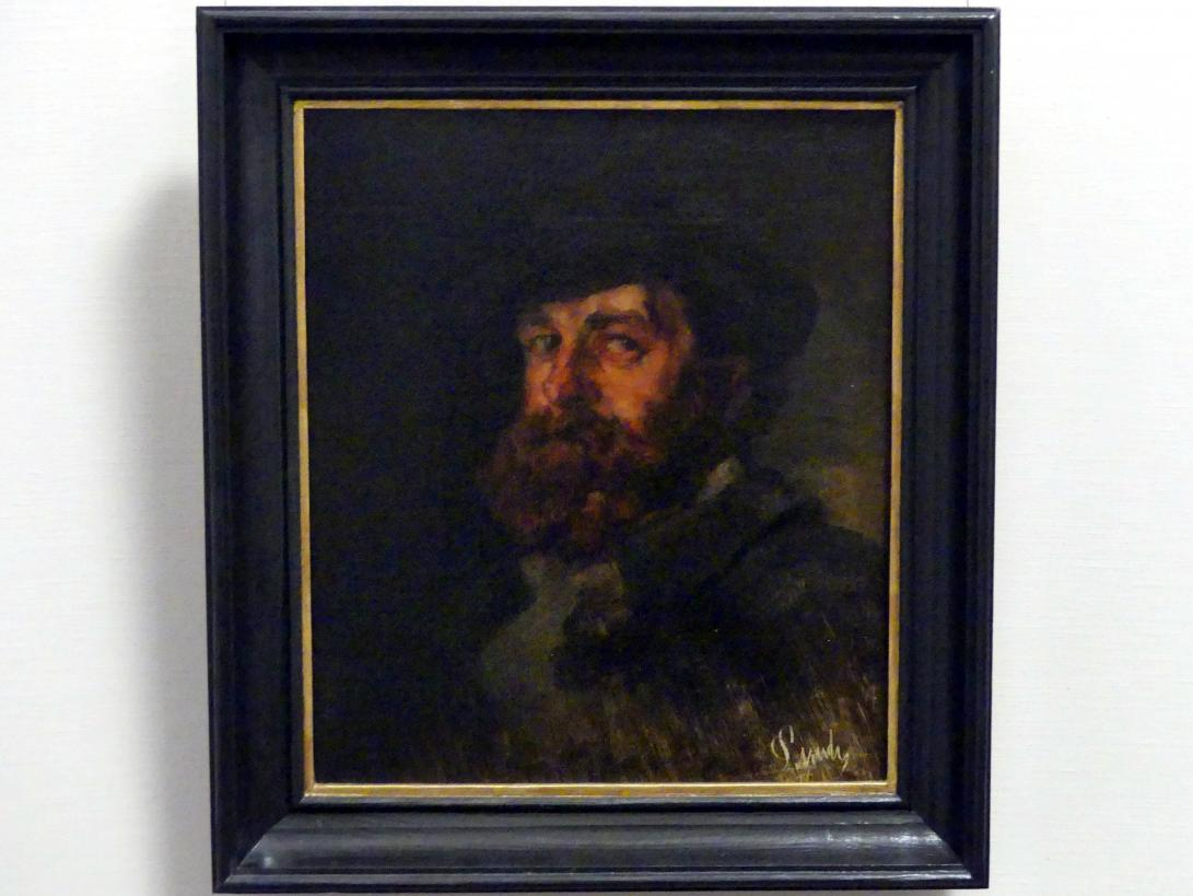 Carl Schuch: Der Maler Karl Hagemeister, 1876 - 1877