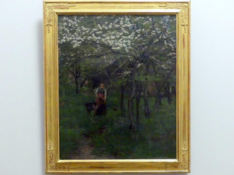 Johann Sperl: Frühling in Kutterling, 1880