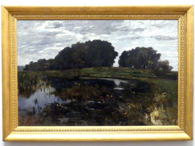 Karl Hagemeister: Märkische Landschaft, 1880