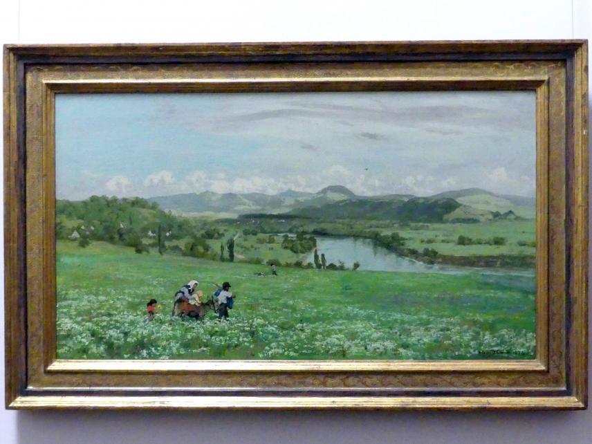 Hans Thoma: Der Rhein bei Säckingen, 1873