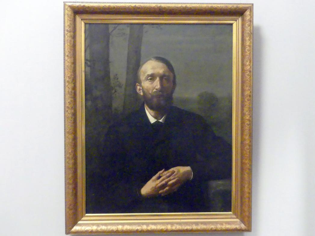 Hans Thoma: Der Kunstschriftsteller Conrad Fiedler, 1884