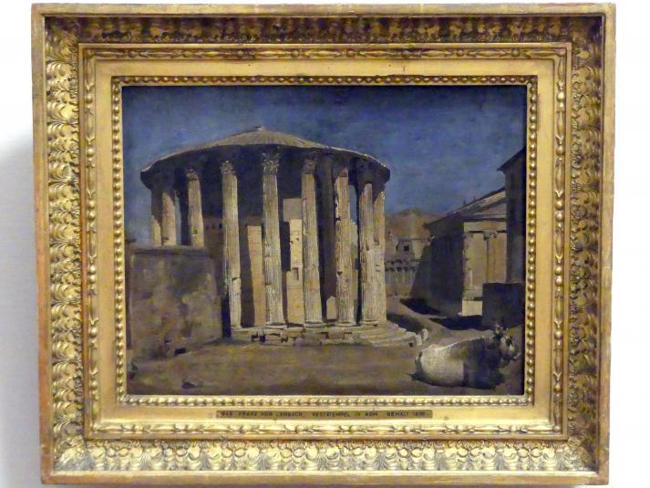 Franz von Lenbach: Vesta-Tempel in Rom, 1858 - 1859