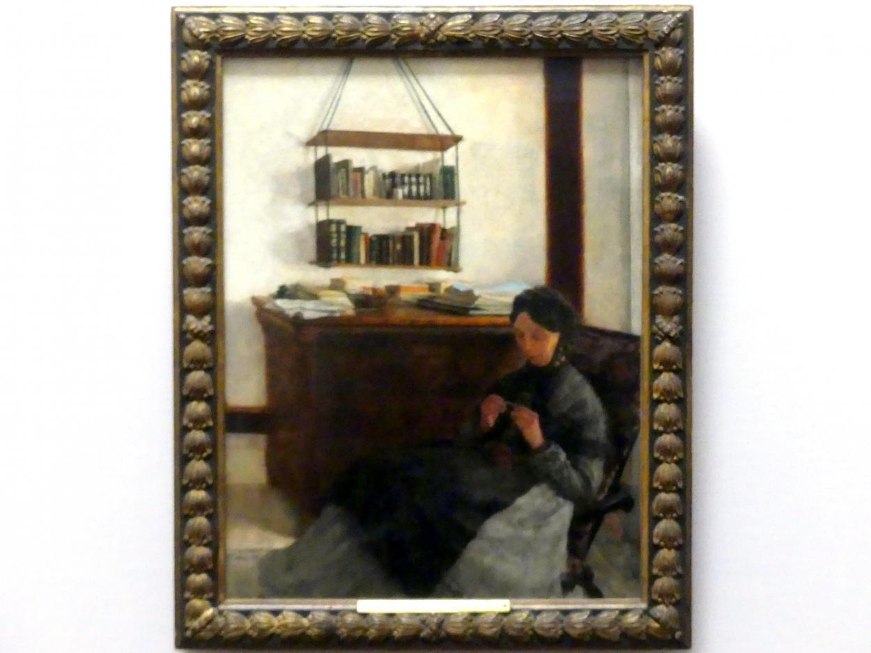 Louis Eysen: Die Mutter des Künstlers, um 1877