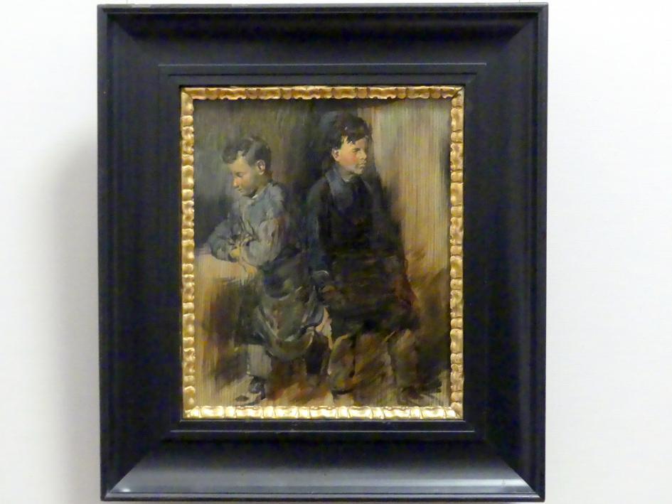 Wilhelm Busch: Der beiden Schusterjungen, um 1875
