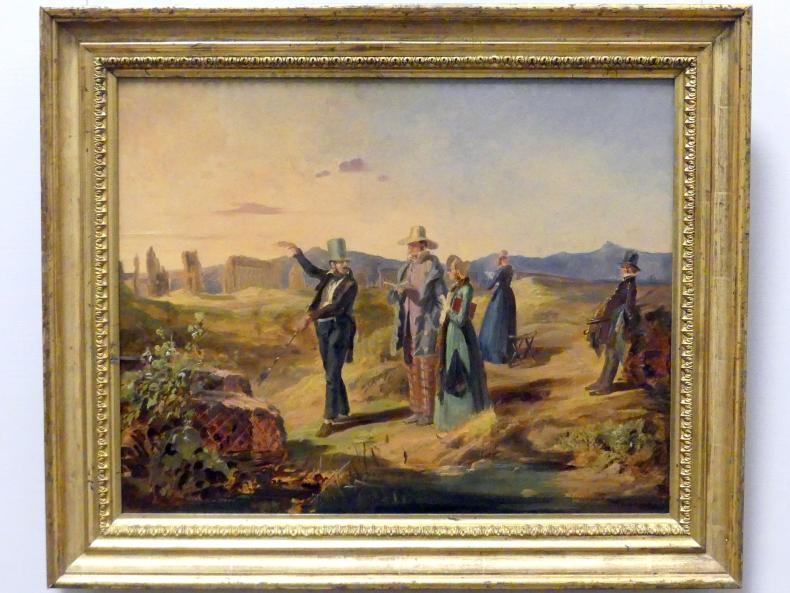 Carl Spitzweg: Engländer in der Campagna, um 1845
