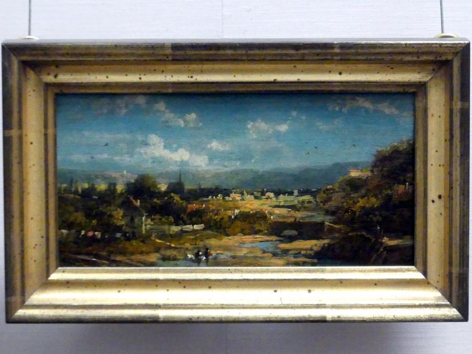 Carl Spitzweg: Landschaft, um 1865