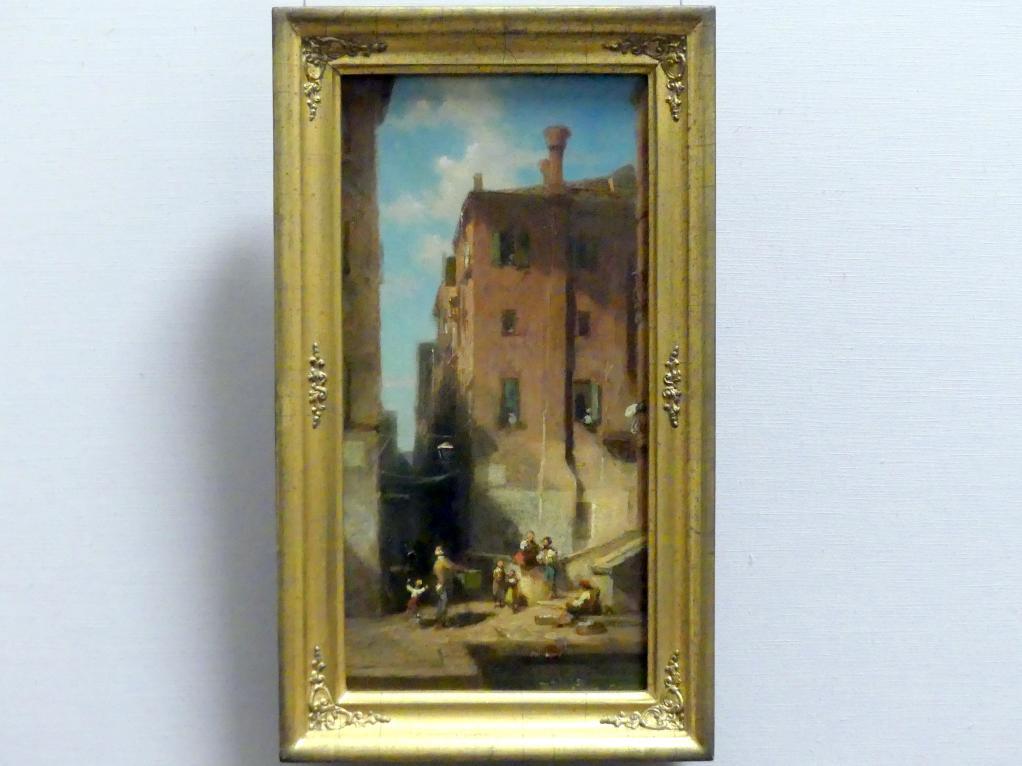 Carl Spitzweg: Straße in Venedig, um 1850