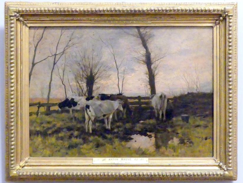 Anton Mauve: Kühe auf der Weide, um 1882 - 1883