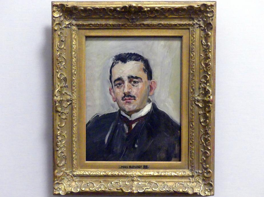 Max Slevogt: Bildnis Bruno Cassirer, 1911
