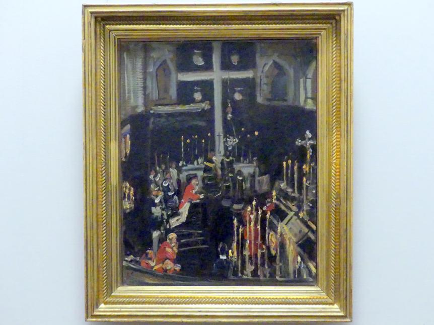 Max Slevogt: Seelenmesse der Sankt Georgsritter, 1908