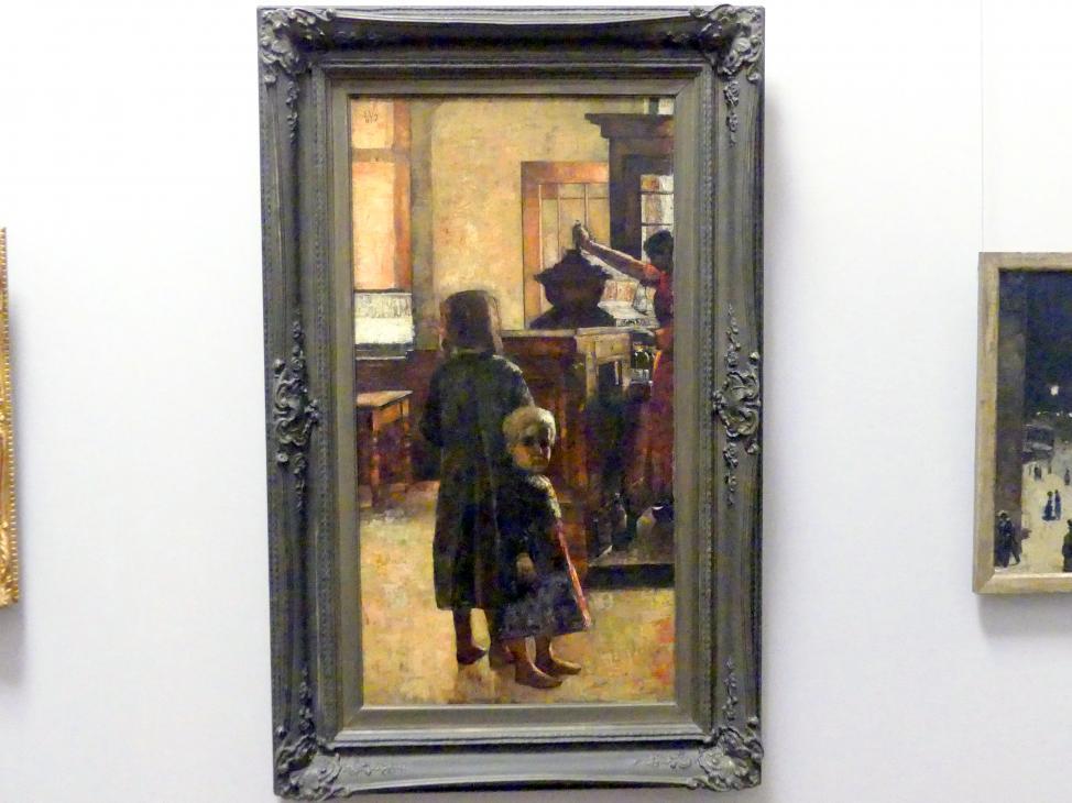 Lesser Ury: Estaminet - Flämische Schenke, 1884
