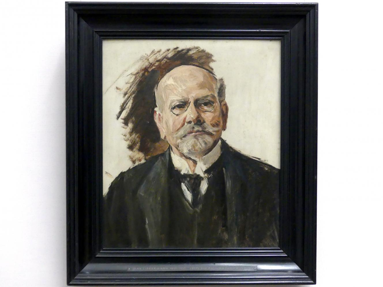 Max Liebermann: Emil Rathenau, 1908