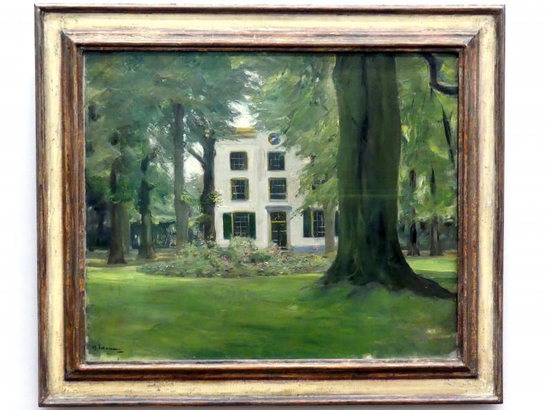 Max Liebermann: Landhaus in Hilversum, 1901