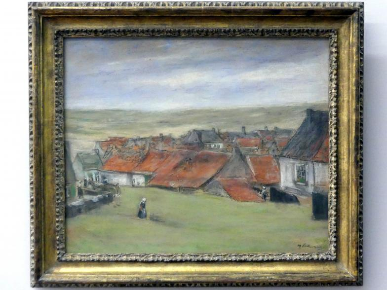 Max Liebermann: Holländisches Dorf, um 1890