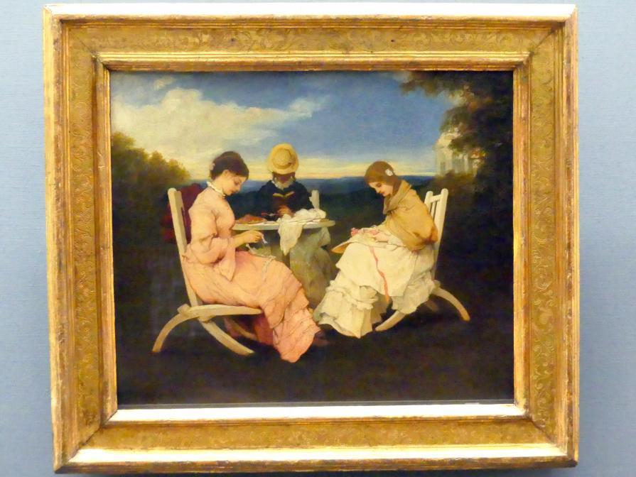 Gabriel von Max: Die Schwestern, 1876