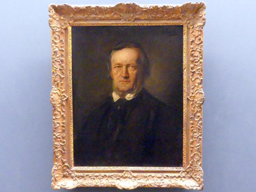 Franz von Lenbach: Richard Wagner, vor 1895