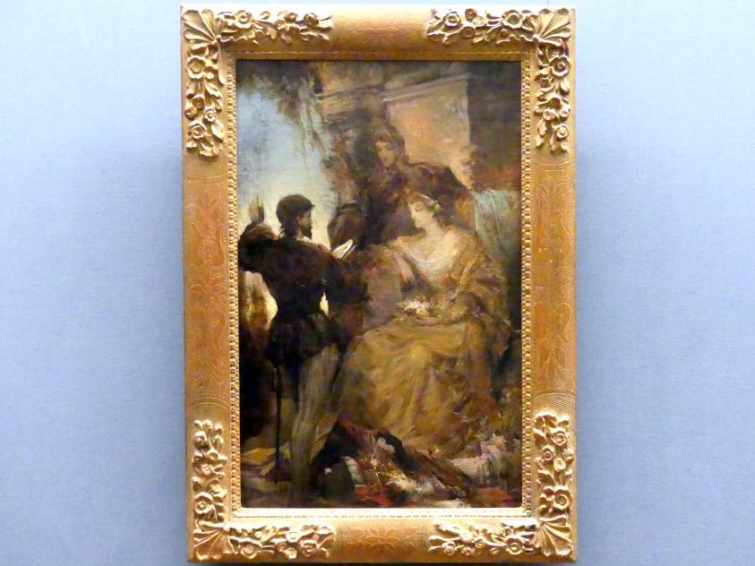 Hans Makart: Tasso und Eleonore von Este, um 1869
