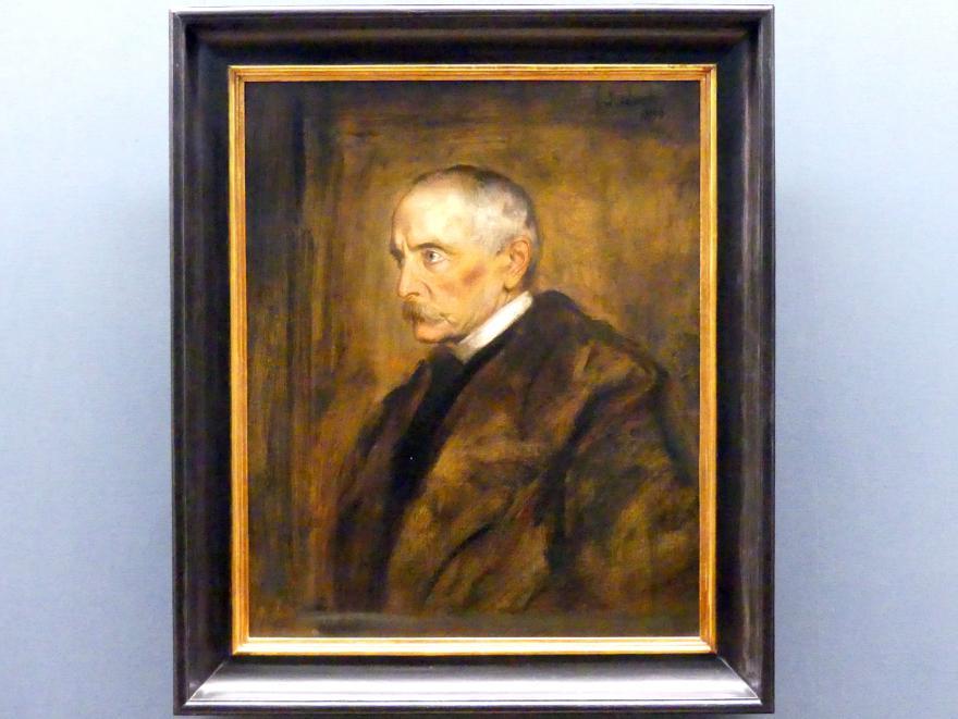 Franz von Lenbach: Der Reichskanzler Fürst zu Hohenlohe-Schillingsfürst, 1896