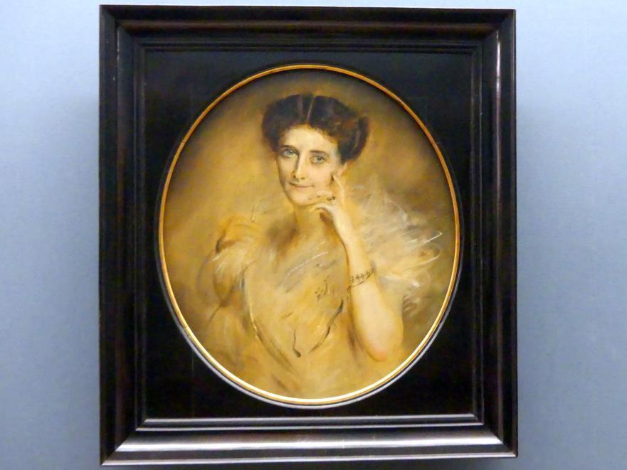 Franz von Lenbach: Lady Curzon (Studie), 1901 - 1902