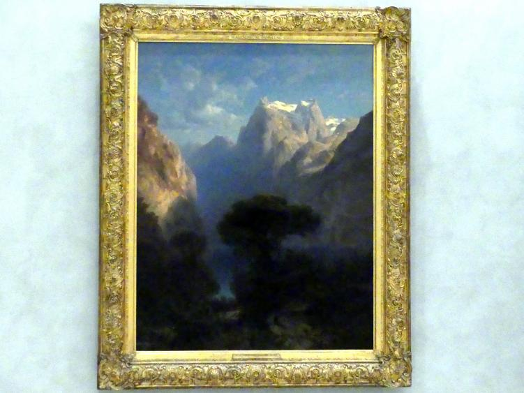 Alexandre Calame: Vierwaldstätter See, 1853