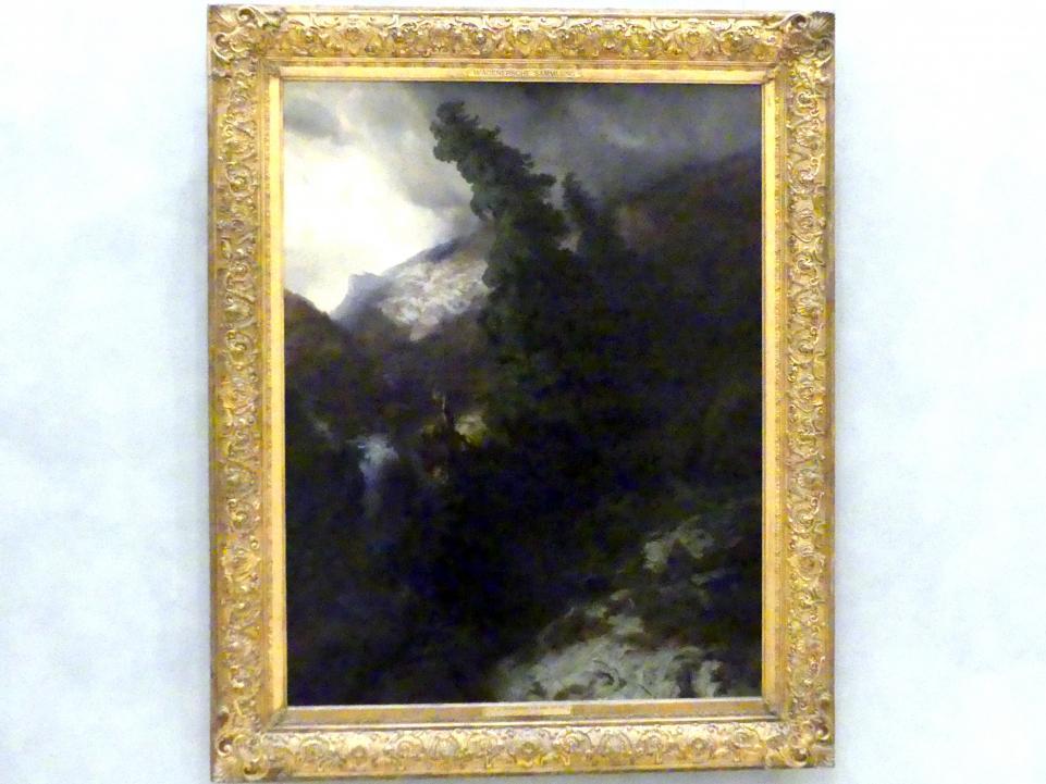 Alexandre Calame: Hochgebirgsschlucht, 1854 - 1855