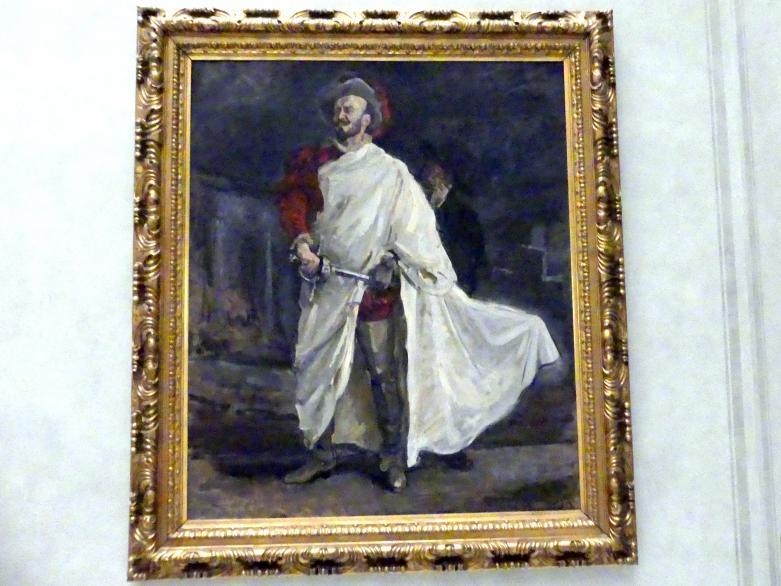 Max Slevogt: Der Sänger Francisco d'Andrade als Don Giovanni in Mozarts Oper, 1912