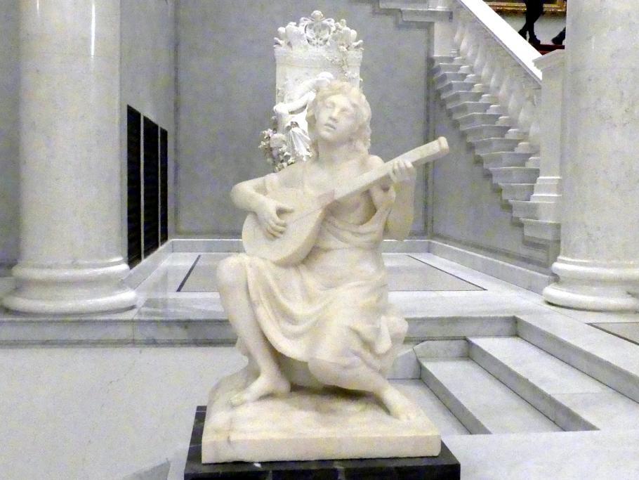 Adolf von Hildebrand: Lautespielendes Mädchen, 1908 - 1913
