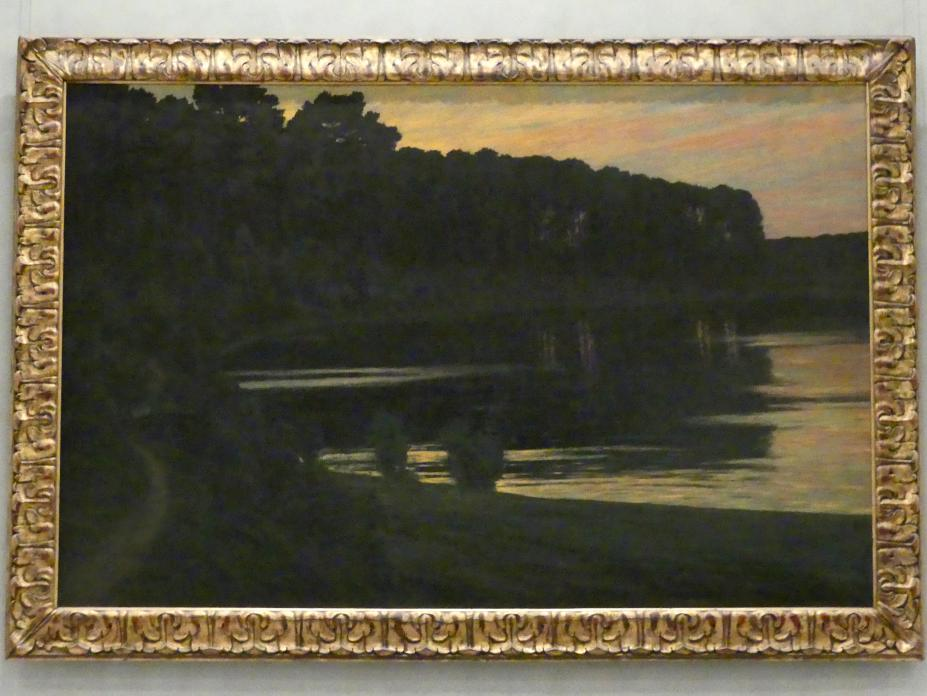 Walter Leistikow: Grunewaldsee, 1895