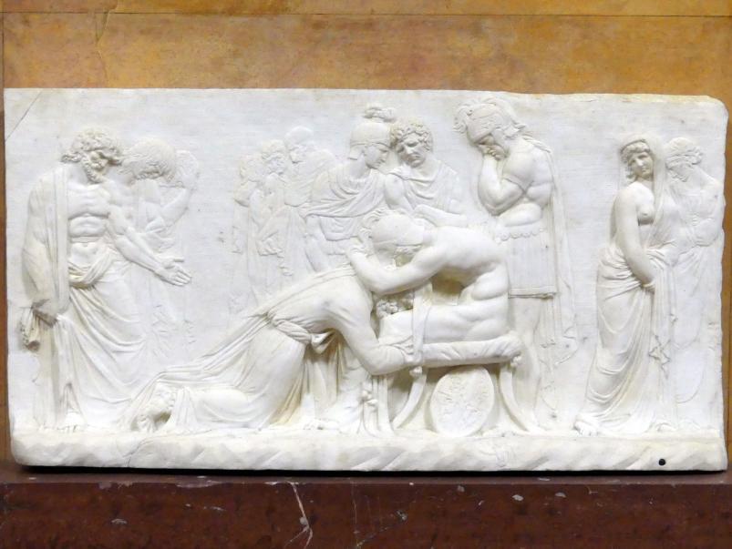 Priamos vor Achill, um 1800 - 1820