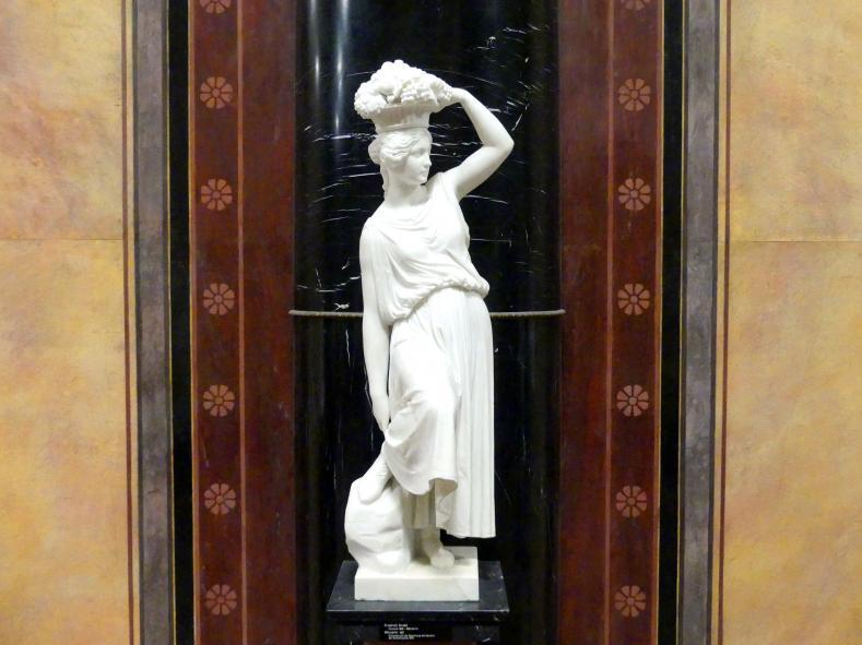 Friedrich Drake: Winzerin, 1837