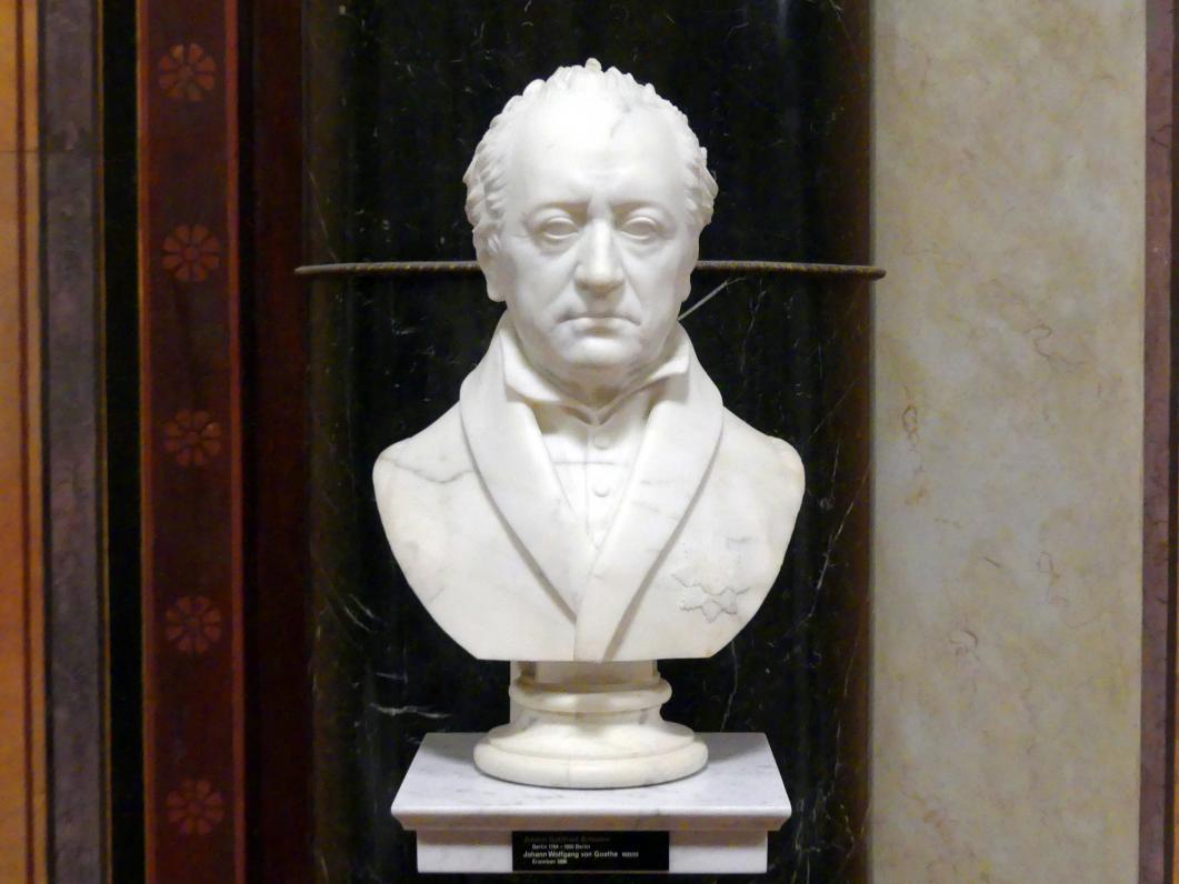 Johann Gottfried Schadow: Johann Wolfgang von Goethe, 1822 - 1823
